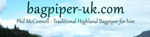Bagpiper - UK