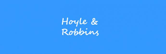 Hoyle and Robbins