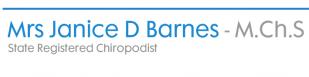 Mrs Janice D Barnes - Chiropodist